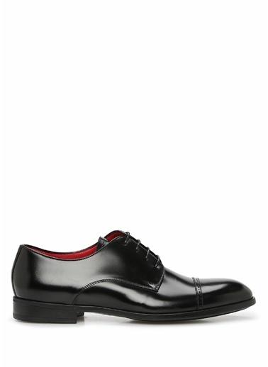Barrett 101622266 Erkek Deri Ayakkabı Siyah